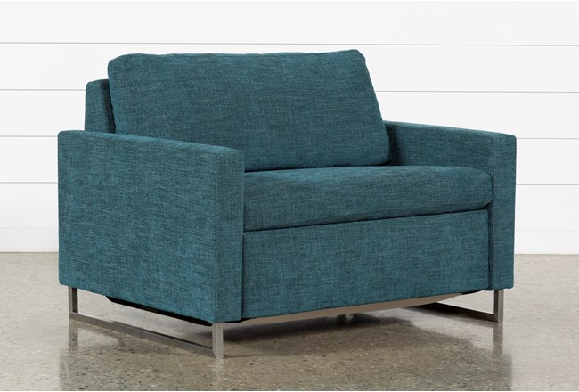 Branson Teal Twin Sofa Sleeper - 360