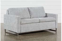 "Branson Light Grey 66"" Full Sofa Sleeper"