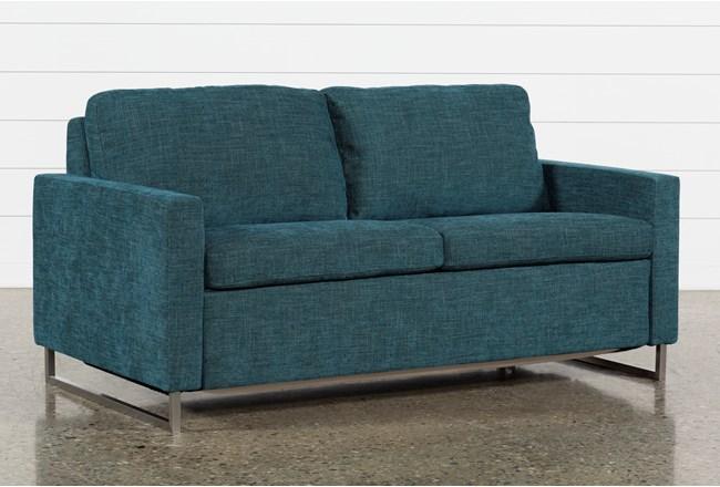 Branson Teal Full Sofa Sleeper - 360