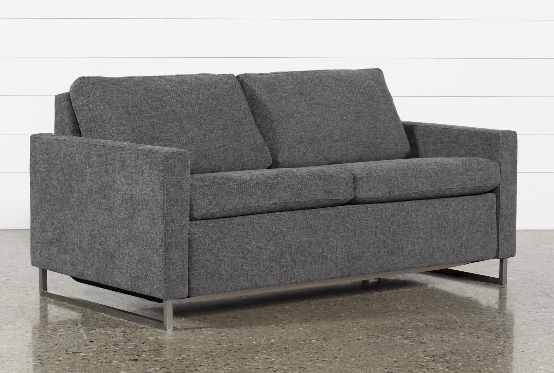 - Branson Charcoal Queen Sofa Sleeper Living Spaces