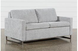 "Branson Light Grey 72"" Queen Sofa Sleeper"