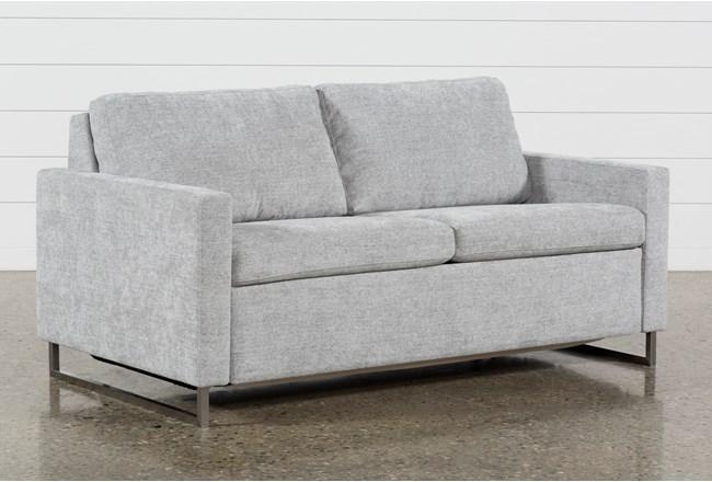 Branson Light Grey Queen Sofa Sleeper - 360
