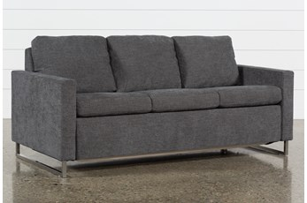 Branson Charcoal Queen Plus Sofa Sleeper