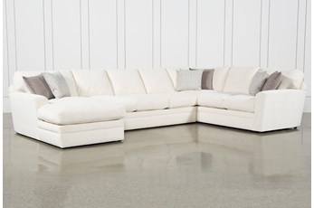 "Prestige Down 3 Piece 159"" Sectional With Left Arm Facing Chaise"