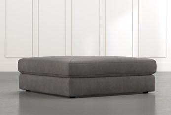 Prestige Dark Grey Oversized Ottoman