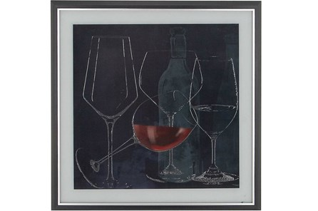 Chalkboard Wine Glasses I