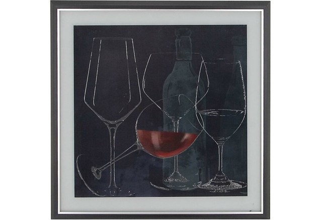 Chalkboard Wine Glasses I - 360