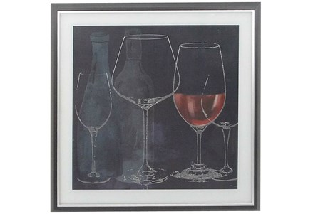 Chalkboard Wine Glasses II