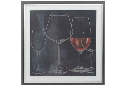 Chalkboard Wine Glasses II