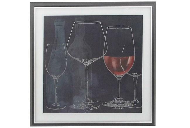 Chalkboard Wine Glasses II - 360