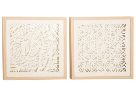 Laser Cut Paper Shadowbox Set Of 2