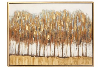 47X36 Guilded Trees