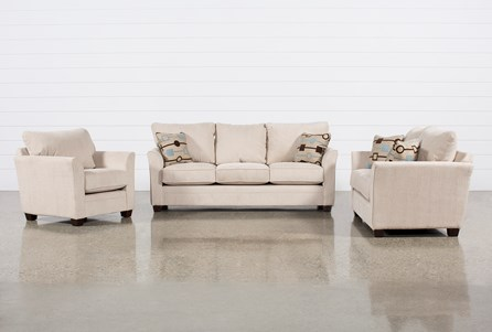 Julisa 3 Piece Living Room Set