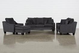 Arlet 4 Piece Living Room Set