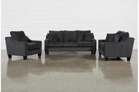 Arlet 3 Piece Living Room Set