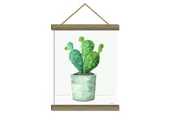 Picture-Potted Cactus 17X22