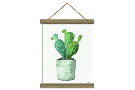 Picture-Potted Cactus 17X22 - Main