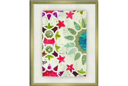 Picture-Colorful Tile Paper Shadowbox 23.5X29.5