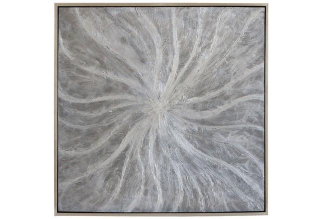 Picture-Silver Pearl Swirl 37.5X37.5 - 360