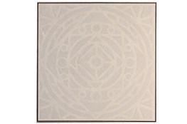 Picture-Enchanted Mandala Embellished Canvas 37.5X37.5