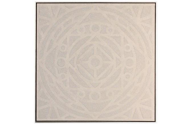 Picture-Enchanted Mandala Embellished Canvas 37.5X37.5 - 360