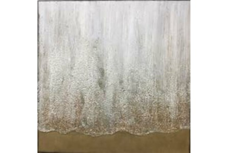 Picture-Bronze Illusion Hand Painting 30X30