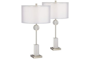 Table Lamp-Crisian Set Of 2