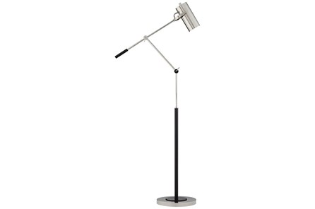 Floor Lamp-Jilt Nickel - Main
