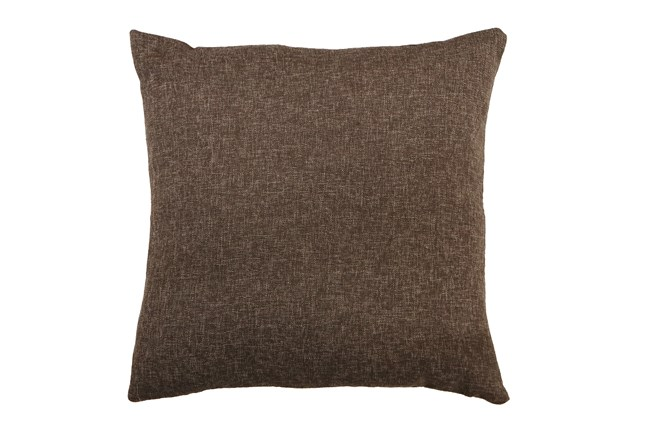 Accent Pillow-Ambiance Cocoa 22X22 By Nate Berkus and Jeremiah Brent - 360
