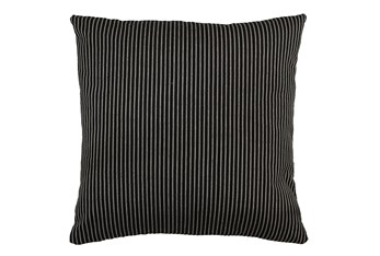 Accent Pillow-Upstate Jet 22X22 By Nate Berkus and Jeremiah Brent