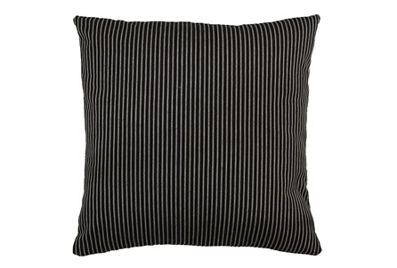 Accent Pillow-Upstate Jet 22X22 By Nate Berkus and Jeremiah Brent - Main