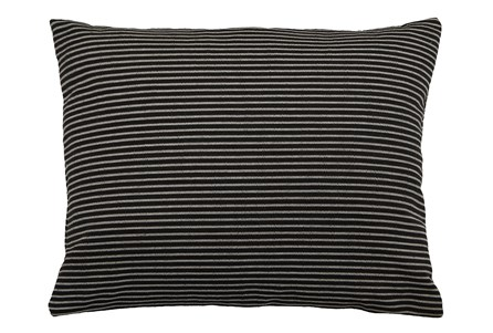 Accent Pillow-Upstate Jet 18X22 By Nate Berkus and Jeremiah Brent - Main