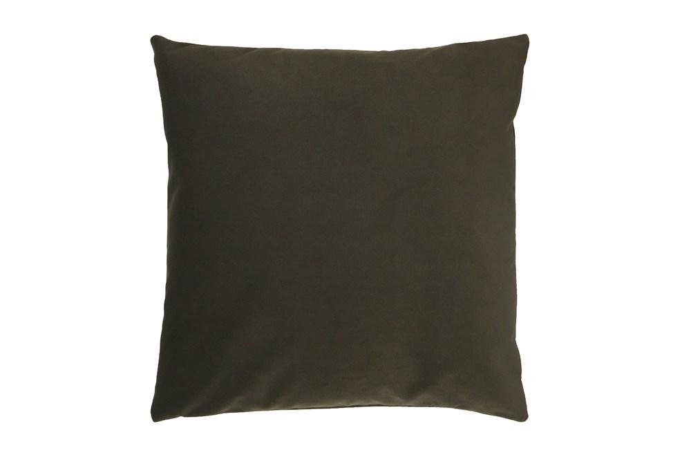 Accent Pillow-Mod Velvet Loden 22X22 By Nate Berkus and Jeremiah Brent