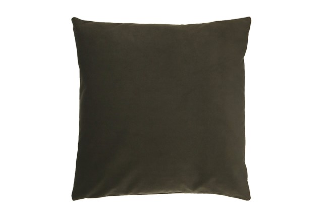Accent Pillow-Mod Velvet Loden 22X22 By Nate Berkus and Jeremiah Brent - 360