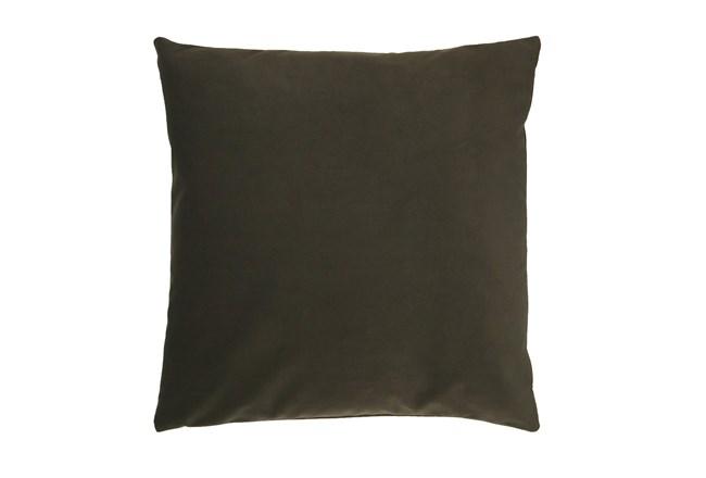 Accent Pillow-Mod Velvet Loden 22X22 By Nate Berkus and Jeremiah Brent - 360