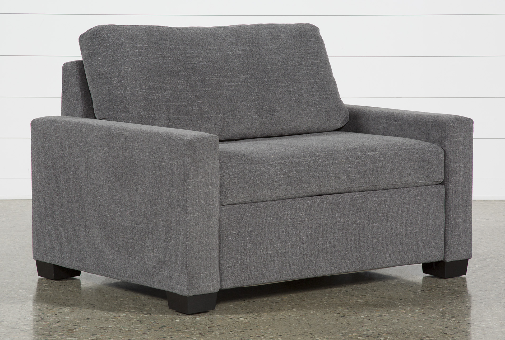 twin sofa beds sleeper sofas free assembly with delivery rh livingspaces com twin pull out sofa chair twin pull out sofa chair