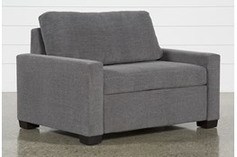 Mackenzie Charcoal Twin Sofa Sleeper