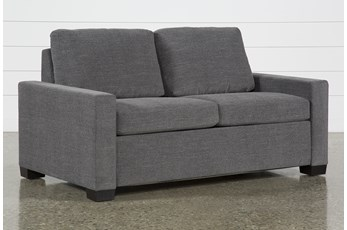 "Mackenzie Charcoal 68"" Full Sofa Sleeper"
