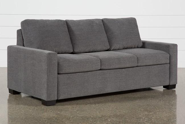"""Mackenzie Charcoal 80"""" Queen Plus Sofa Sleeper - 360"""
