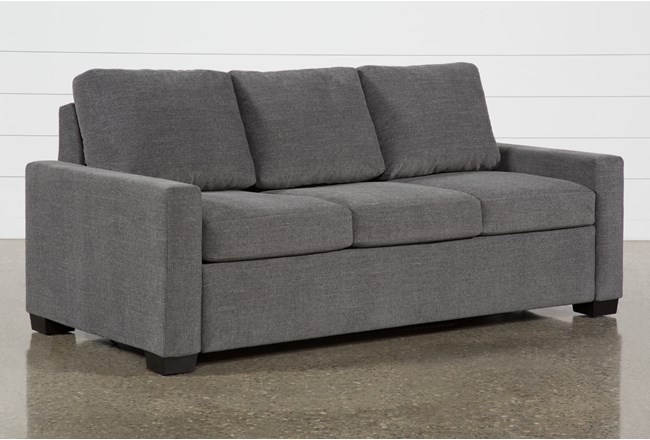 Mackenzie Charcoal Queen Plus Sofa Sleeper - 360