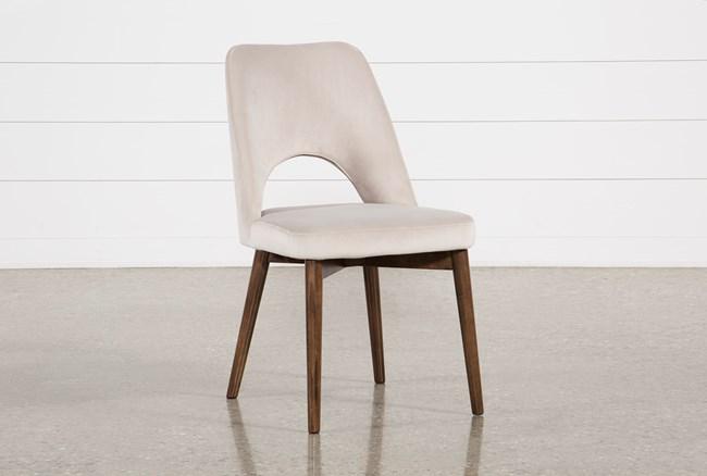 Zuma Grey Dining Side Chair - 360