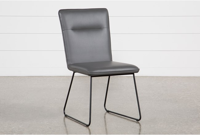 Kylie Grey Side Chair - 360