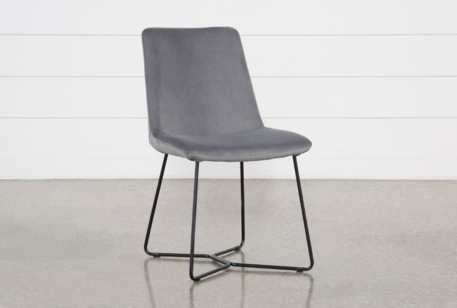 Sable Grey Dining Side Chair - 360