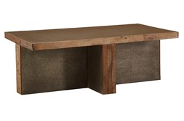 Industrial Foundation Coffee Table