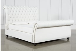 Calistoga Eastern King Upholstered Sleigh Bed