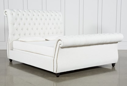 Pleasant Calistoga Queen Upholstered Sleigh Bed Machost Co Dining Chair Design Ideas Machostcouk