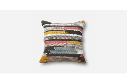 Accent Pillow-Multi Texture Stripes 20X20
