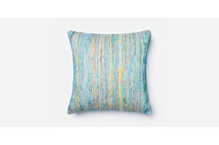 Accent Pillow-Blue/Multi Saree 20X20