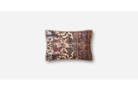 Accent Pillow-Beige/Multi Tapestry 14X22
