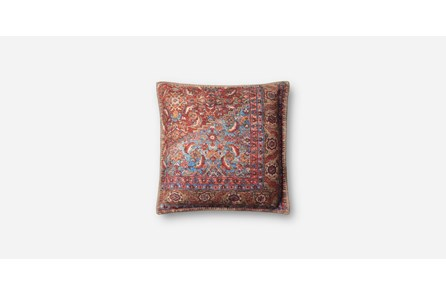 Accent Pillow-Multi Red Tapestry 19X19